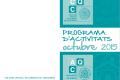 Programa d'activitats dels Químics – octubre 2015