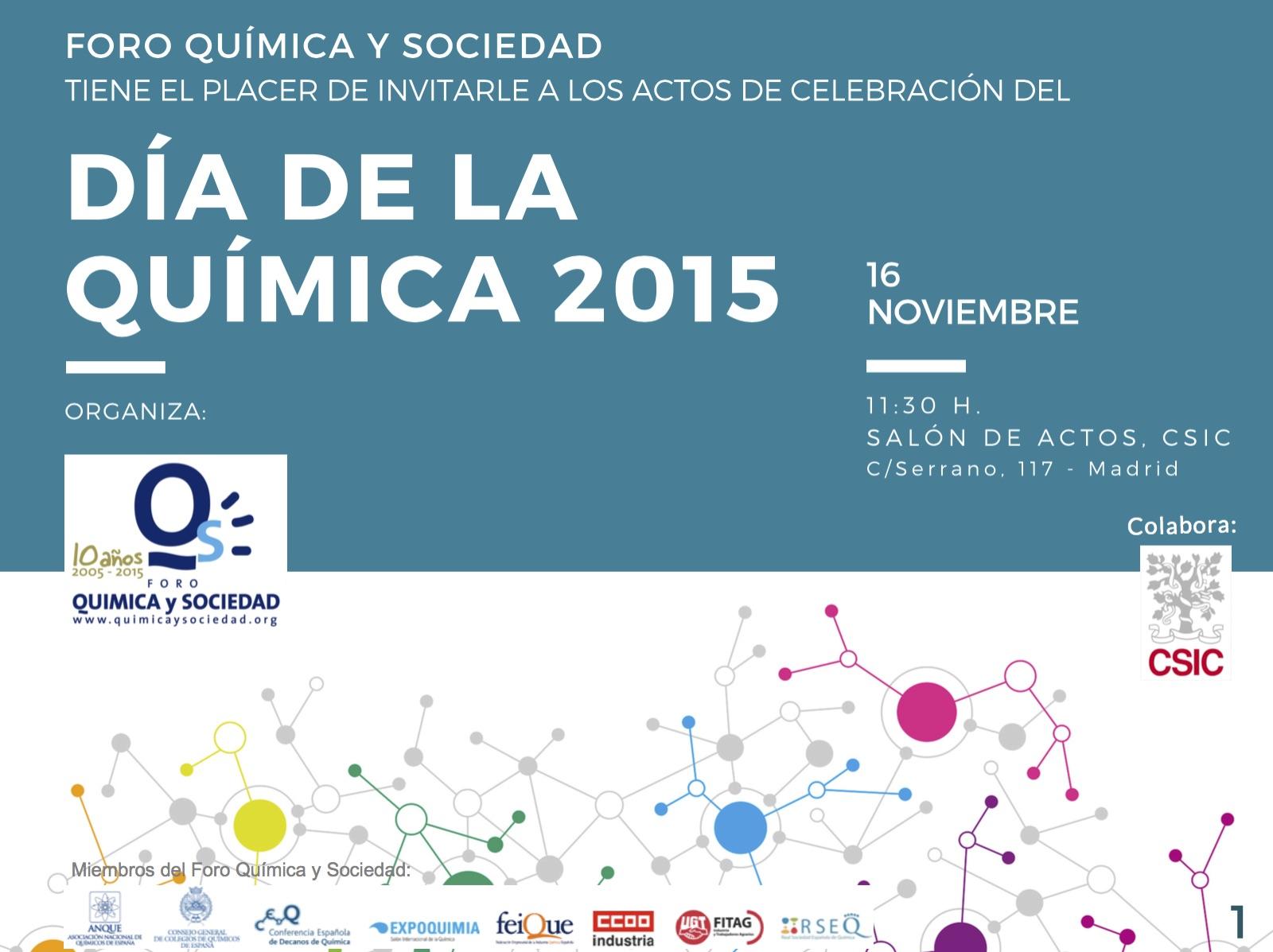 Día de la química 2015